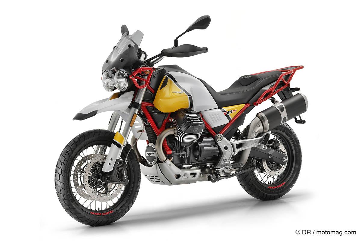 nouveaut s moto 2019 retour historique pour la moto guzzi moto magazine leader de l. Black Bedroom Furniture Sets. Home Design Ideas