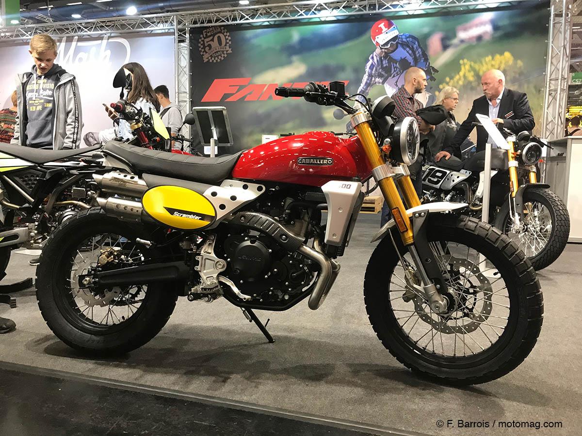 nouveaut s moto 2019 fantic caballero scrambler 500 le moto magazine leader de l. Black Bedroom Furniture Sets. Home Design Ideas