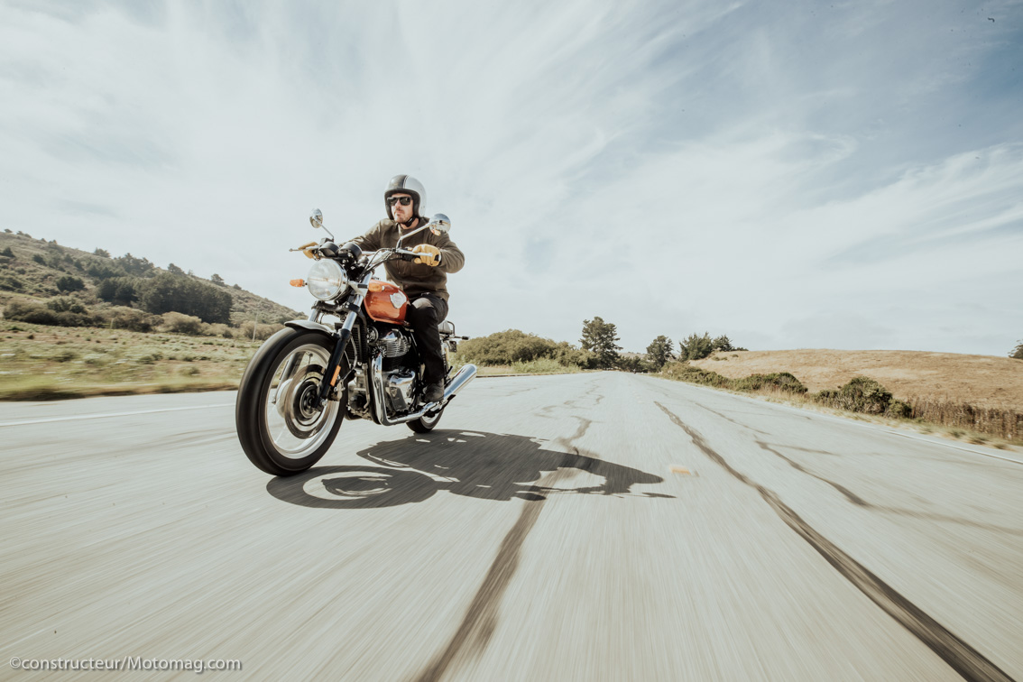 Essai Royal Enfield Interceptor : triomphe à l'indienne
