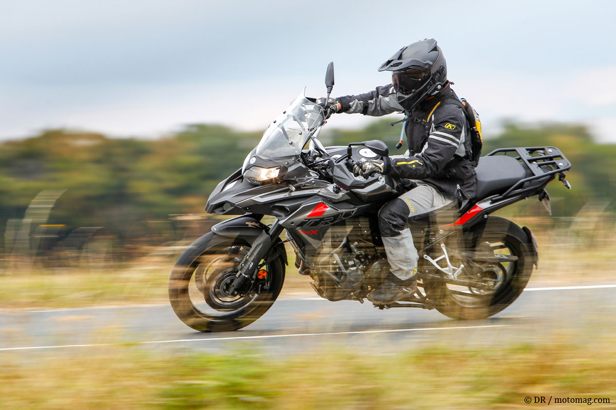 Essai Benelli TRK 502 X : petit mais costaud