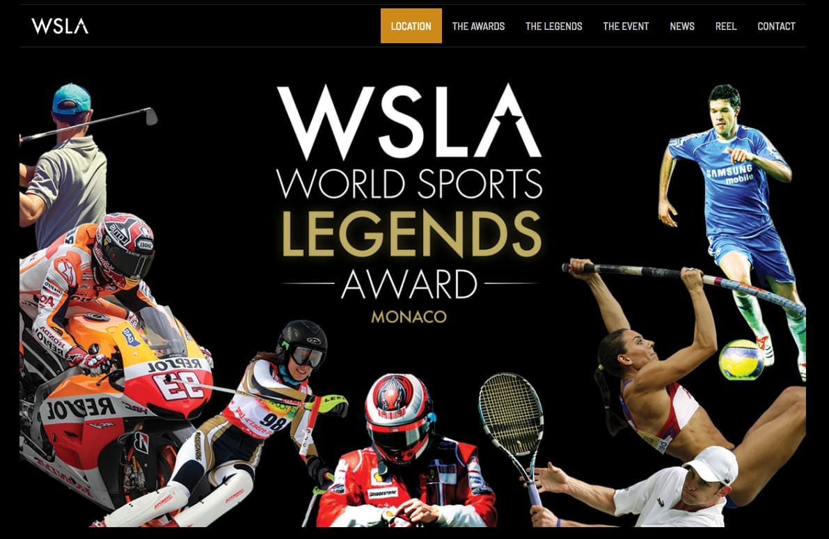 3e cérémonie World sports legends award (WSLA) à (...)