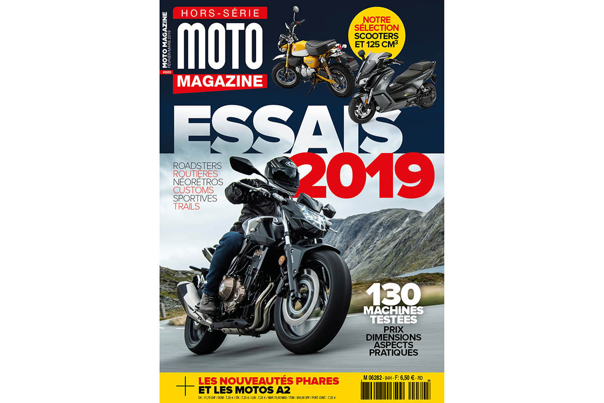 Le Moto Magazine hors-série Essais 2019 est en (...)