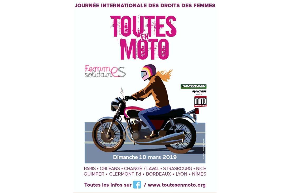 Droits Des Femmes Toutes En Moto Fête Sa 10e édition