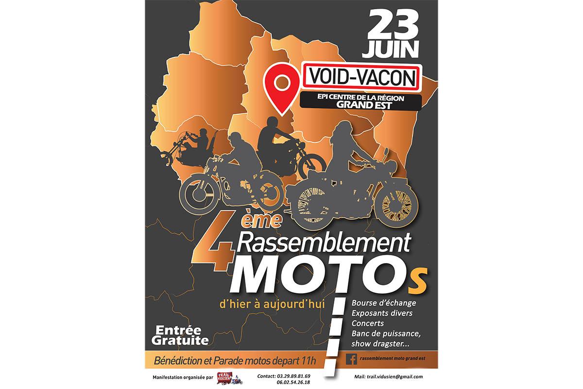 4e Rassemblement Motos Du Grand Est De Void Vacon Moto