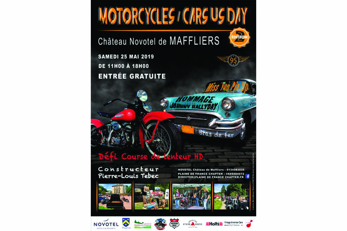 Motorcycles / Cars US Day (Val-d'Oise)