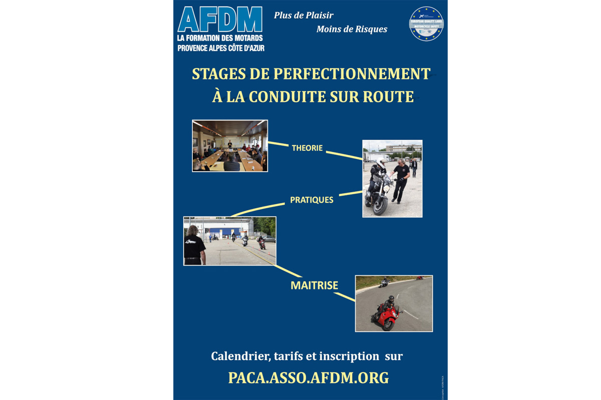 Stage de perfectionnement post permis de l'AFDM à (...)