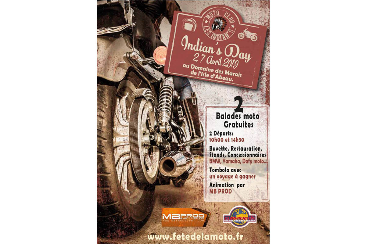 Indian's Day - Fête de la moto (Isère)