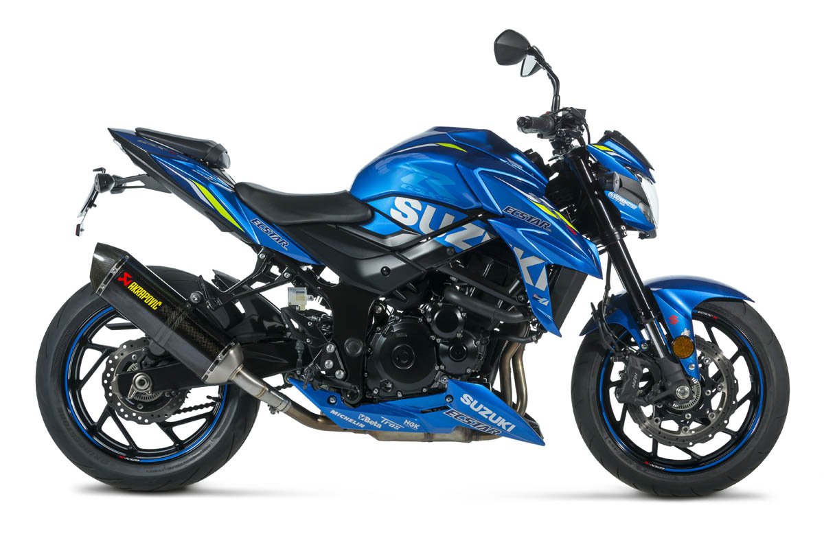 La GSX-S750 A2 disponible aux couleurs du Team Suzuki (...)