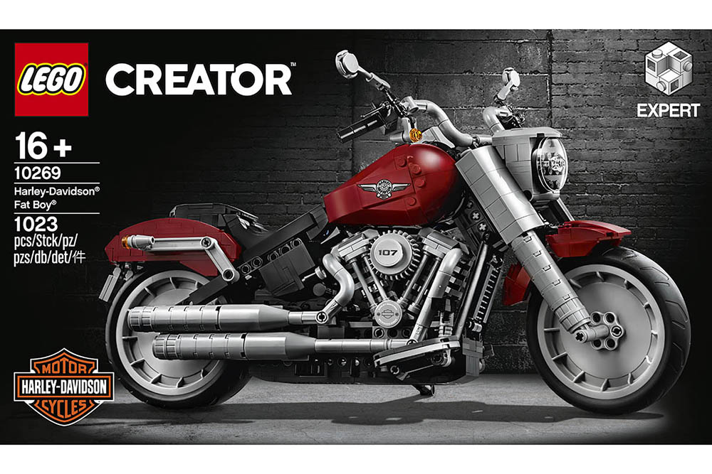 Lego propose une Harley-Davidson Fat Boy à monter (...)