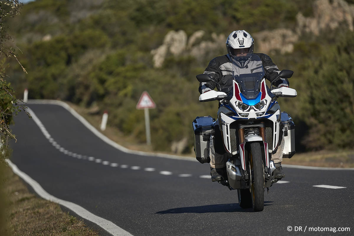 Essai Honda CRF 1100 L Africa Twin Adventure Sports DCT (...)