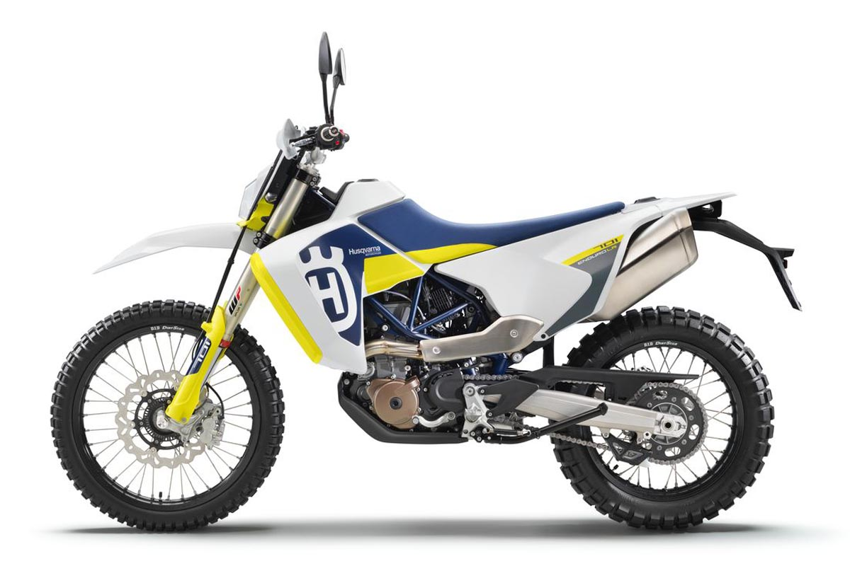 Salon Milan 2019 : Husqvarna 701 Enduro « Long Range » (...)