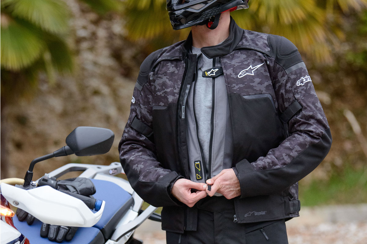 Alpinestars Tech-Air 5 : un nouvel airbag autonome