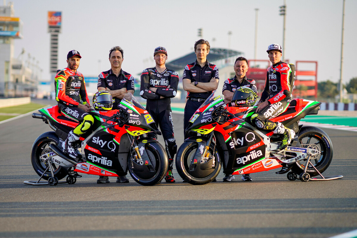 MotoGP : Aprilia dévoile sa RS-GP version 2020