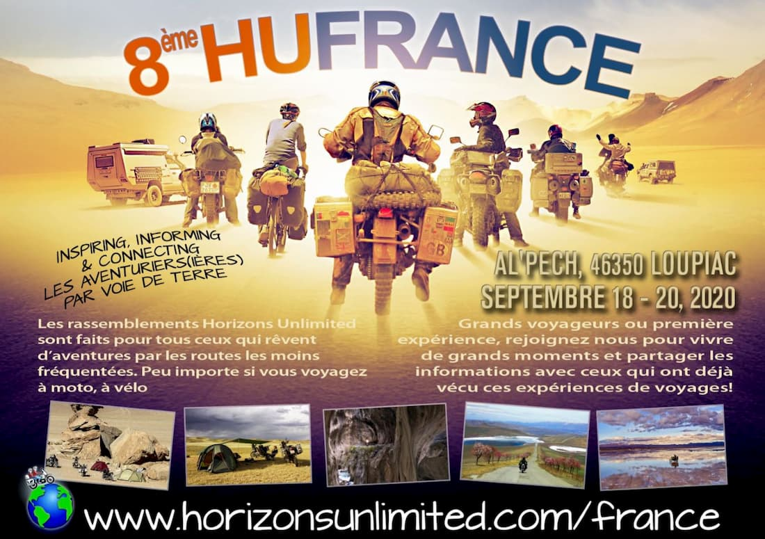 8e édition de Horizons unlimited France