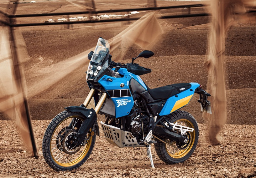 Yamaha Ténéré 700 Rally Edition, le Paris-Dakar en (...)