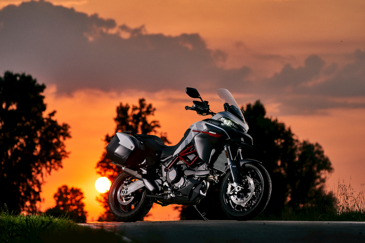 La Ducati Multistrada 950 S en version « GP White (...)