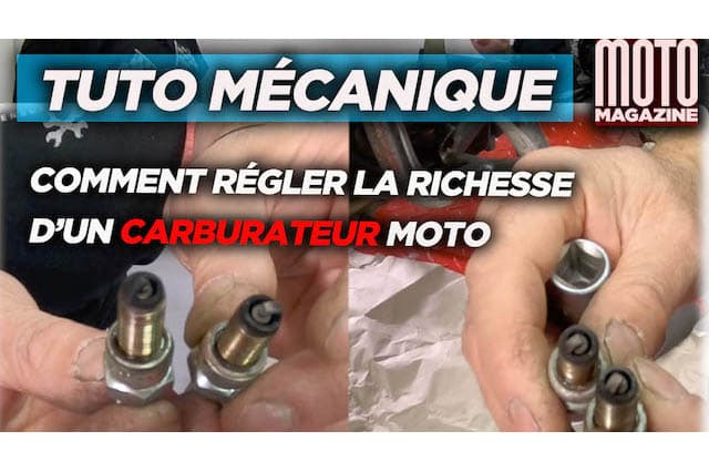 [VIDEO] Tuto mécanique : Comment régler la richesse (...)