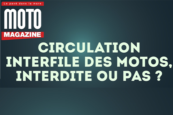 Circulation en interfile : la FFMC s'exprime en (...)