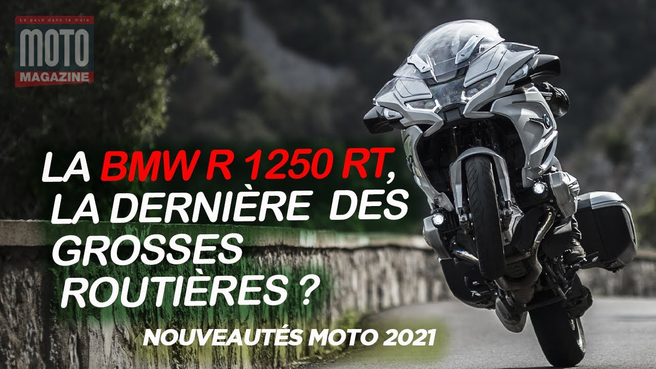 [VIDEO] La BMW R 1250 RT 2021 en essai