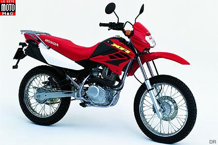 honda 125 xr l moto magazine leader de l actualit de la moto et du motard. Black Bedroom Furniture Sets. Home Design Ideas