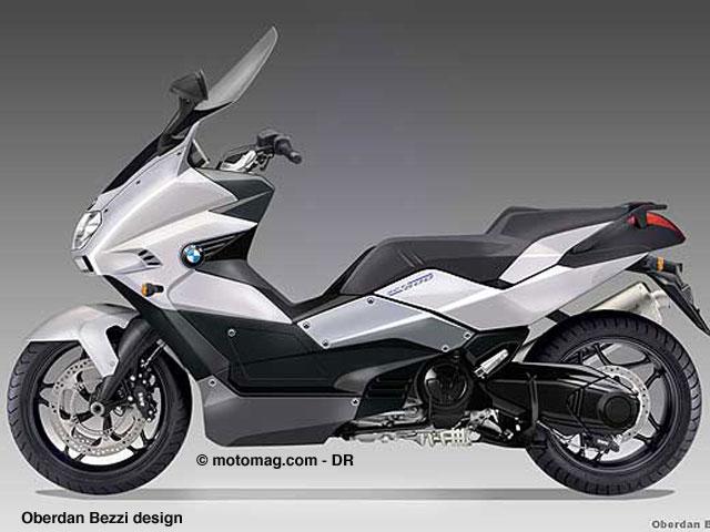 un scooter 800 cm3 bmw pour 2010 moto magazine leader. Black Bedroom Furniture Sets. Home Design Ideas