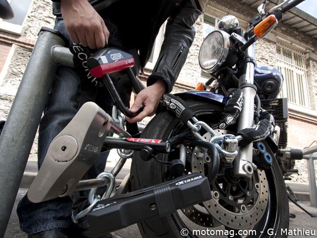 test consomoto les antivols d rouillent moto magazine leader de l actualit de la moto et. Black Bedroom Furniture Sets. Home Design Ideas
