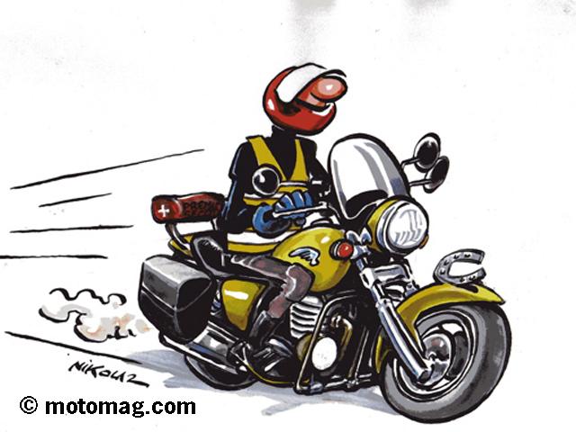 Sondage tes vous un motard passionn serein ou - Dessin de motard ...
