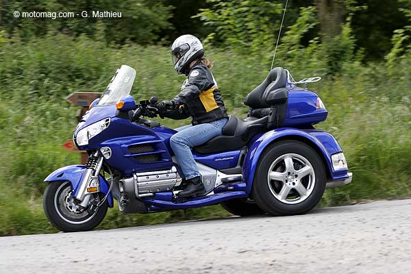 honda gold wing eml martinique 1800 cm3 moto magazine leader de l actualit de la moto et du. Black Bedroom Furniture Sets. Home Design Ideas
