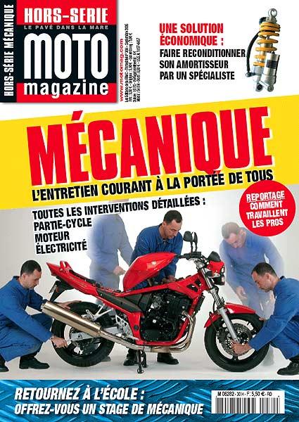 moto mag hors s rie m canique 2005 moto magazine leader de l actualit de la moto et du motard. Black Bedroom Furniture Sets. Home Design Ideas
