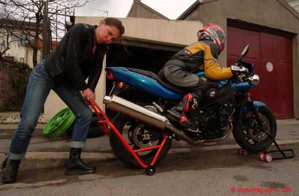 bien choisir sa b quille d 39 atelier moto moto magazine leader de l actualit de la moto et du. Black Bedroom Furniture Sets. Home Design Ideas