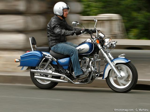jinlun 125 highlander moto magazine leader de l. Black Bedroom Furniture Sets. Home Design Ideas