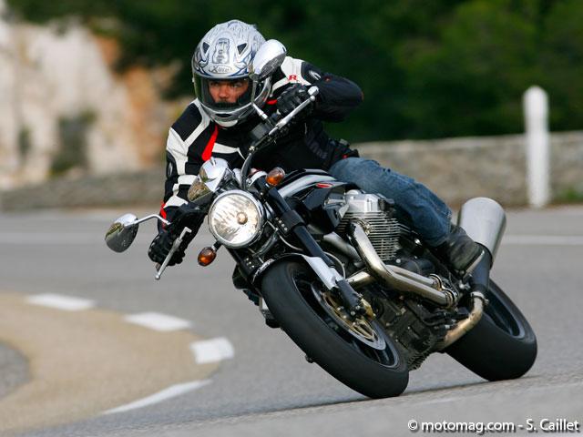 moto guzzi griso 1100 1200 8v moto magazine leader de l actualit de la moto et du motard. Black Bedroom Furniture Sets. Home Design Ideas