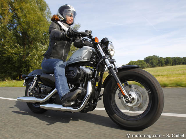 Harley-Davidson 1200 Sportster « Forty Eight »