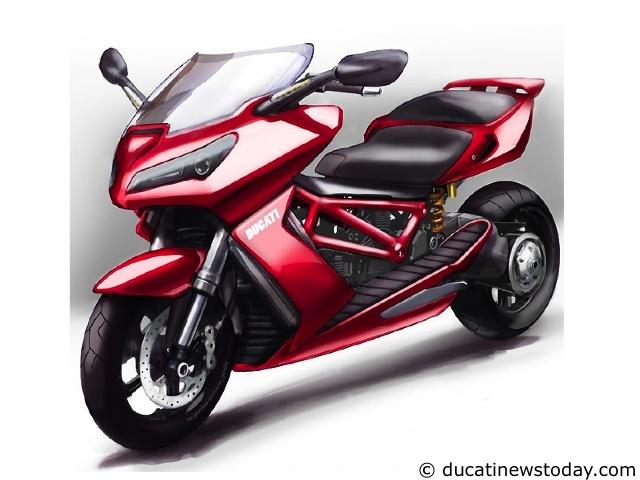 rumeur un maxi scooter chez ducati moto magazine leader de l actualit de la moto et du. Black Bedroom Furniture Sets. Home Design Ideas