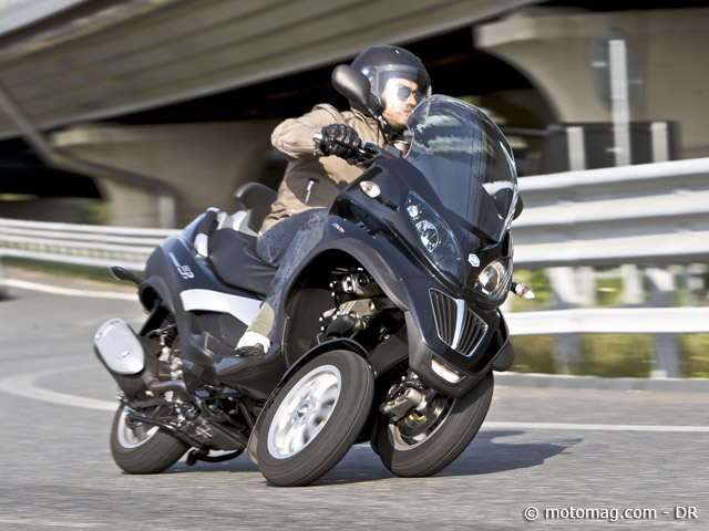 Piaggio 125 MP3 : PV injustifiés sur l'autoroute (...)