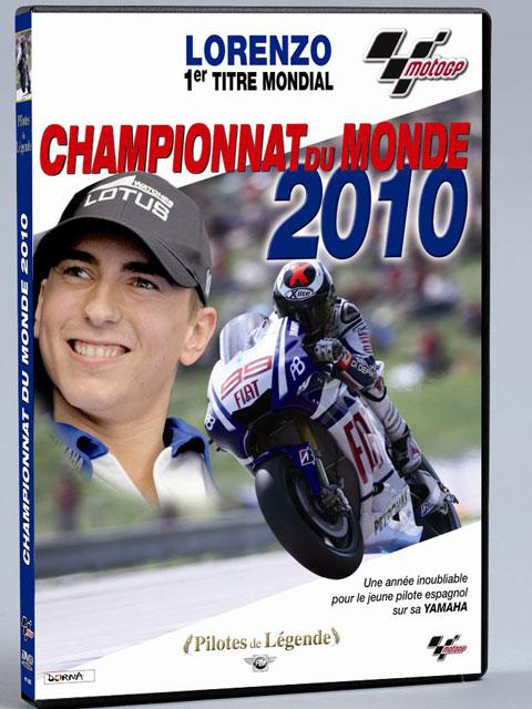 dvd moto gp championnat du monde 2010 lorenzo 1er titre moto magazine leader de l. Black Bedroom Furniture Sets. Home Design Ideas