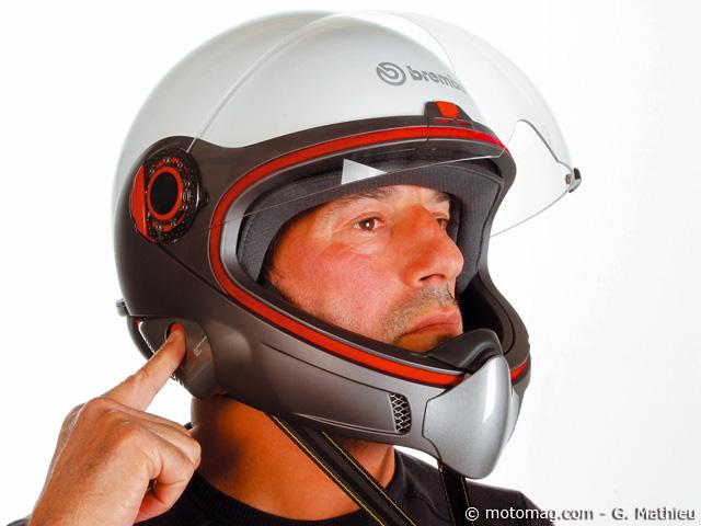 casque moto l 39 int gral brembo b tech moto magazine leader de l actualit de la moto et du. Black Bedroom Furniture Sets. Home Design Ideas