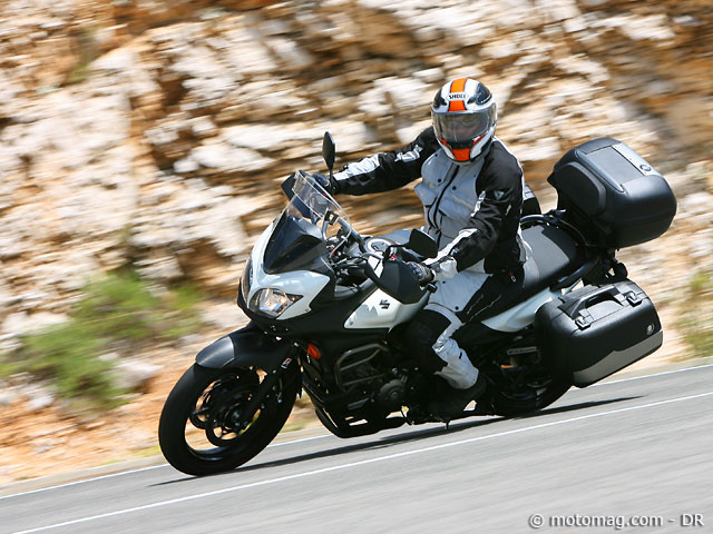 suzuki dl 650 v strom moto magazine leader de l actualit de la moto et du motard. Black Bedroom Furniture Sets. Home Design Ideas