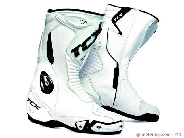 Bottes moto TCX S,Race  pour les pilotes TCX S,Zero, roadsters en demande