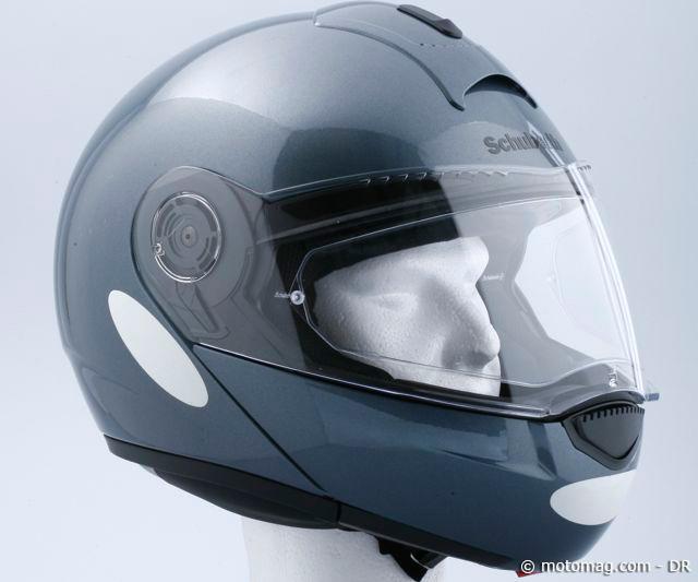 Casque moto police