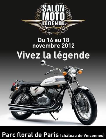 Salon moto l gende 1 place achet e 1 place offerte for Reduction salon de la moto