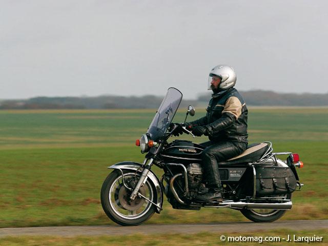 Démarreur  pour Moto Guzzi 850 California  de 1972 à 1981