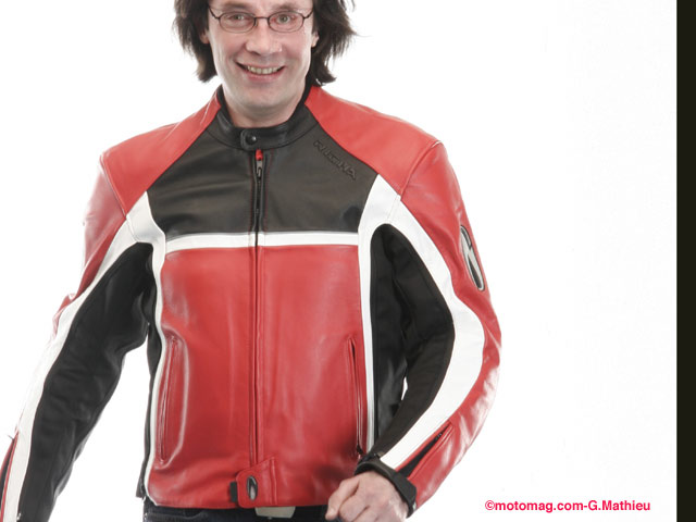 Moto Vêtement Magazine Cuir Leader Ou Textile L De dqrpnqgx