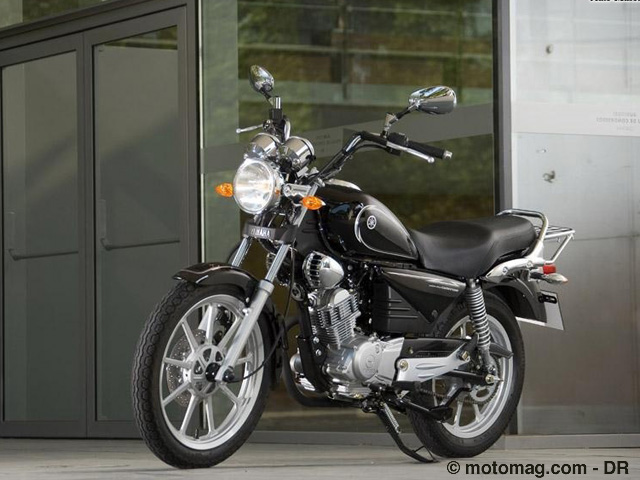 Yamaha YBR 125 Custom : joli mais en retrait