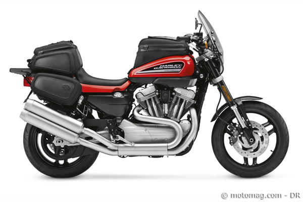 Essai Harley  XR 1200 : bagagerie
