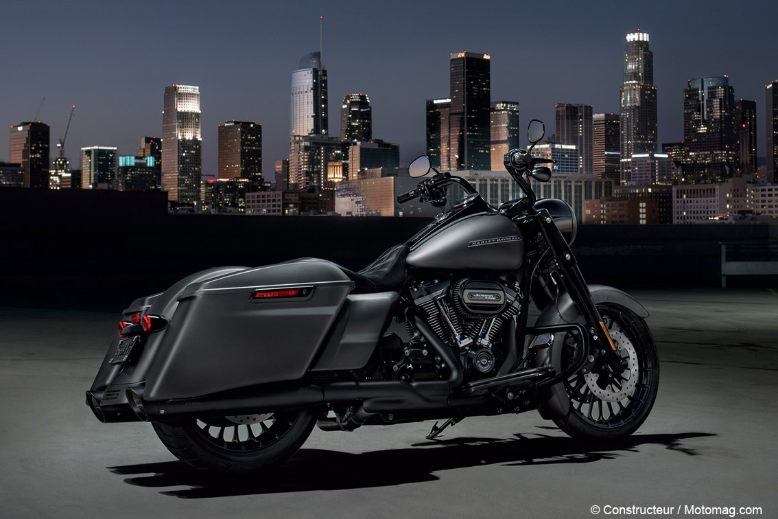 Nouvelle Harley-Davidson Road King Special, stylée bagger