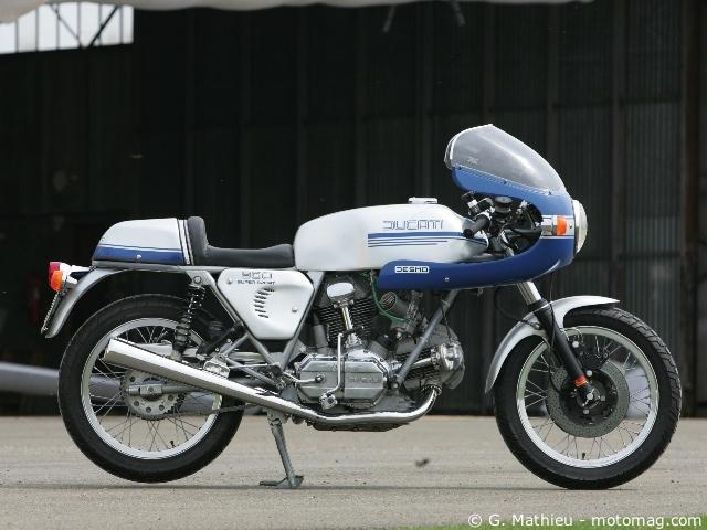 ducati 900 ss 1973 moto magazine leader de l actualit de la moto et du motard. Black Bedroom Furniture Sets. Home Design Ideas