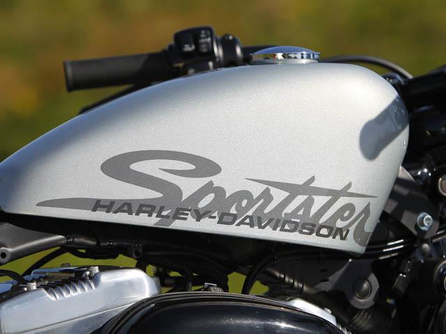 Harley Davidson Sportster 1200 >> Harley-Davidson 1200 Sportster « Forty Eight » - Moto Magazine - leader de l'actualité de la ...