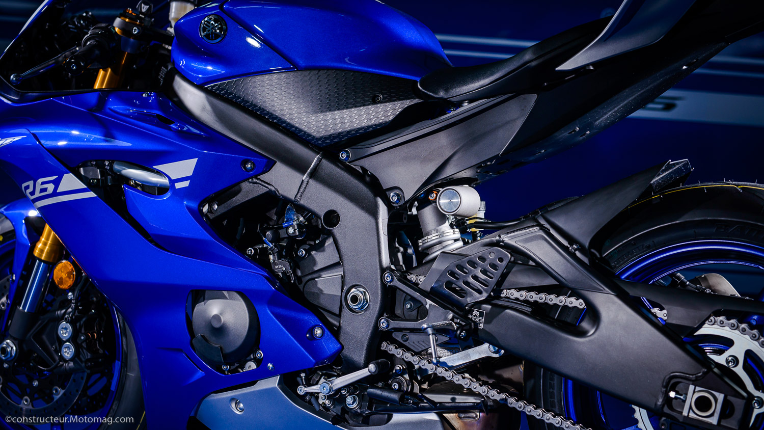 Yamaha YZF-R6 : châssis exemplaire