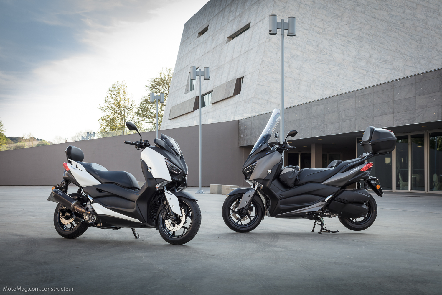 Yamaha X-Max 300 : équipements optionnels